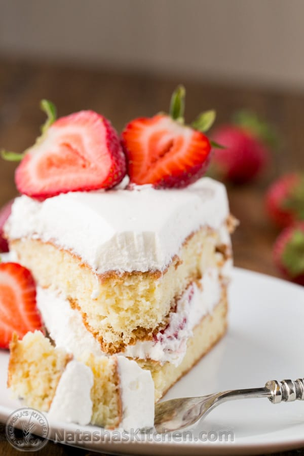 Tres Leches Strawberry Cake Recipe