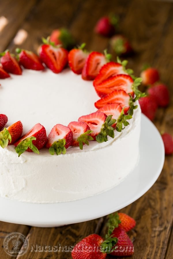 Two Layer Tres Leches Cake