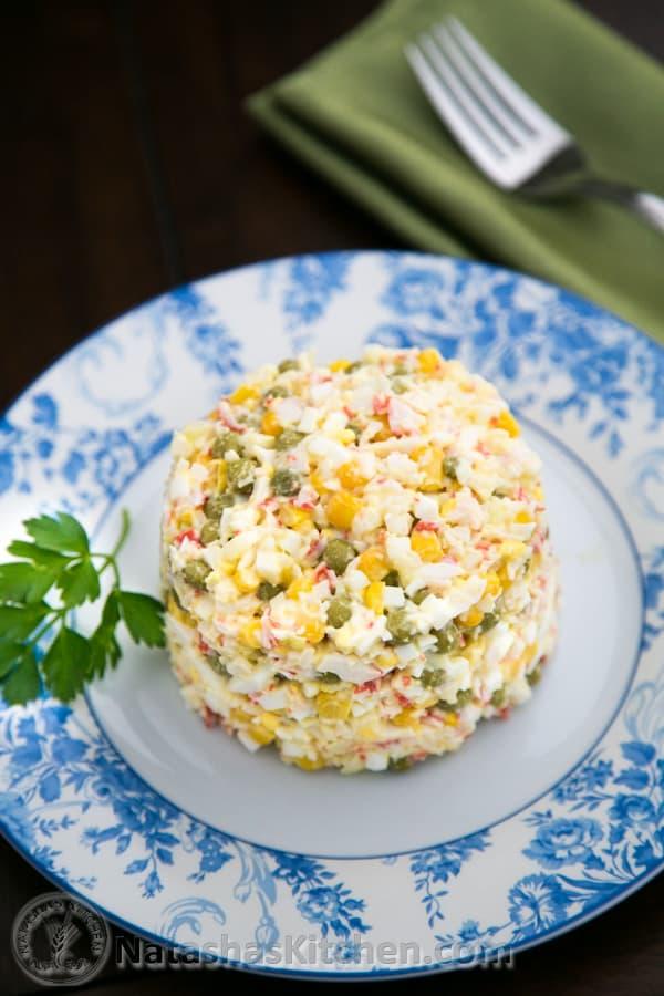Crab Salad Recipe-2