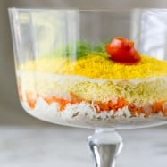 Momosa Salad Recipe ( A must-try Layered Tuna Salad) from @natashaskitchen