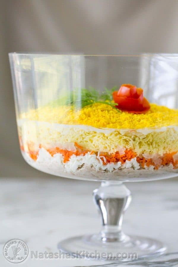 Momosa Salad Recipe ( A must-try Layered Tuna Salad) from @natashaskitchen