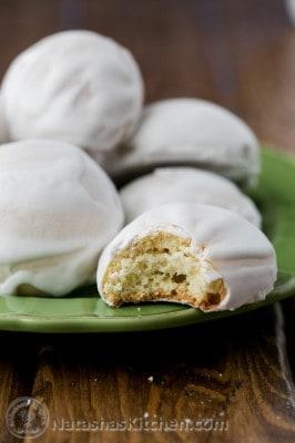 Mom's Pryaniki cookies with Mint Glaze Recipe from @natashaskitchen