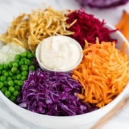 This Russian beet salad is always a hit at holiday parties and church potlucks and it's easy peasy! @natashaskitchen