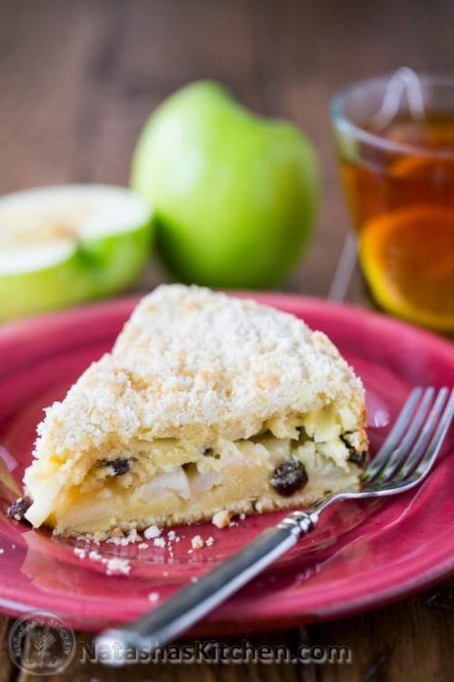 Low Fat Apple Coffee Cake