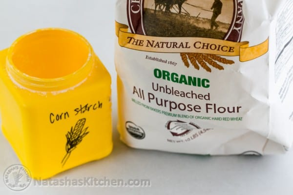 How to make your own cake flour in 2 min with 2 ingredients! @natashaskitchen