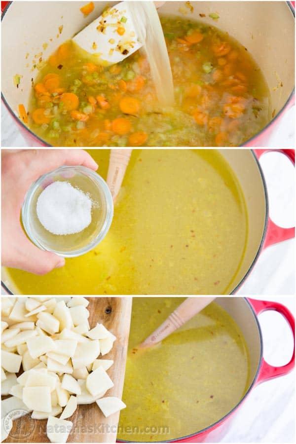 Chicken and Dumpling Soup-5