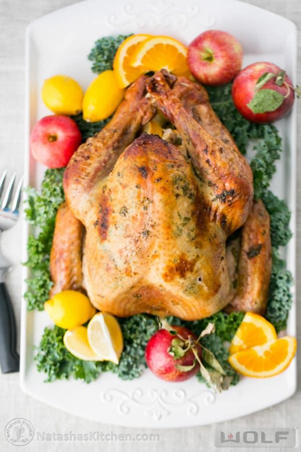 Turkey Recipe, Juicy Roast Turkey Recipe, How To Cook A