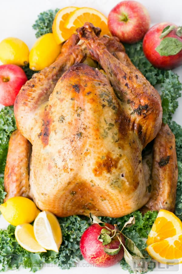 Juicy Roast Turkey. This turkey has the juiciest, most flavorful turkey breast! KEEPER!!   natashaskitchen.com