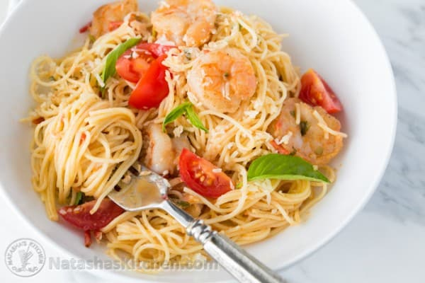 Spaghetti with Shrimp-10