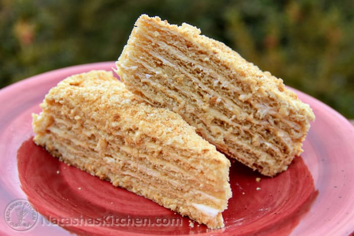 Good Layered Cake Recipes: Mom's Spartak Cake Recipe