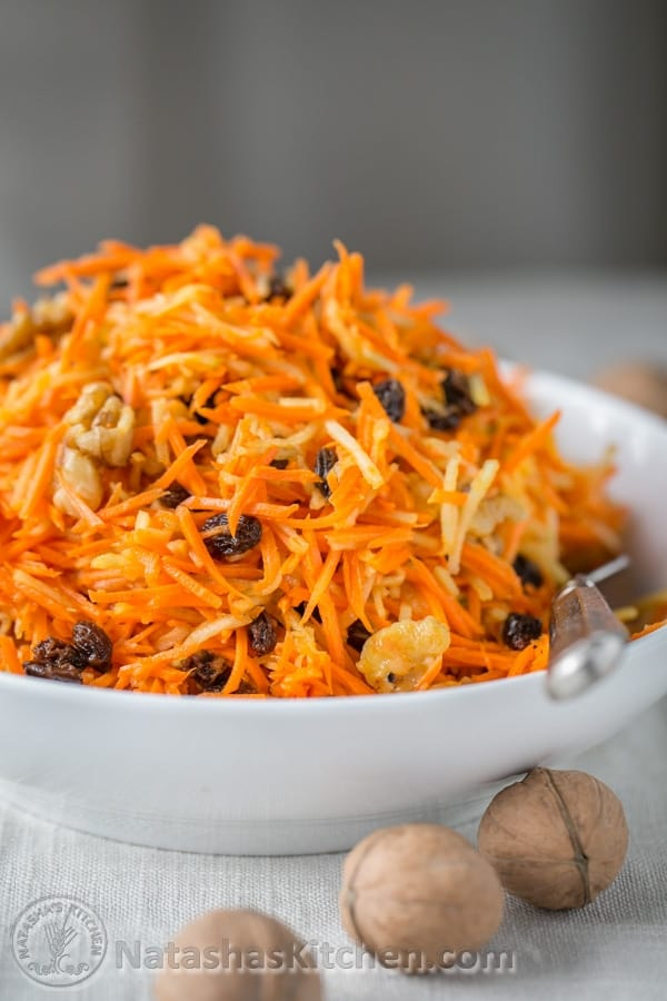 Carrot Salad Recipe Carrot Apple Salad Ukrainian Russian