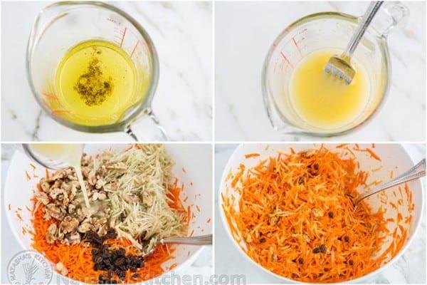 Carrot Apple and Walnut Salad-6