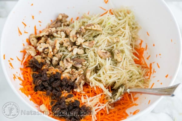Carrot Apple and Walnut Salad-7