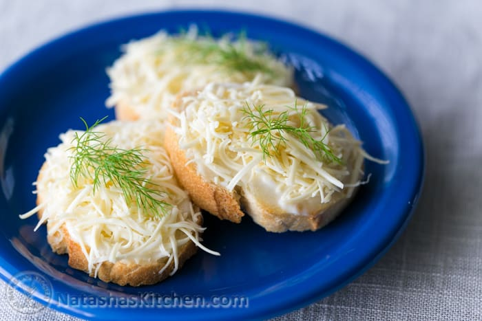 The easiest, party-perfect gouda canapes. Just 4 ingredients but Oh-so-good! @natashaskitchen