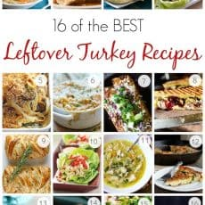 16 of the BEST Leftover Turkey Recipes - Perfect for Thanksgiving Leftovers! @natashaskitchen