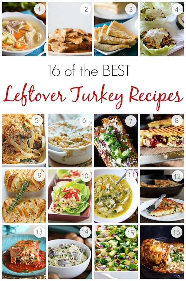 Turkey leftover recipes leftover turkey recipes turkey for Leftover thanksgiving turkey recipes