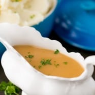 Hands down, the best turkey gravy. Try this and you'll never toss those turkey drippings again; liquid gold! | natashaskitchen.com