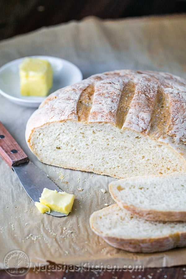 No Knead Artisan Bread Recipe, Easy Bread Recipe
