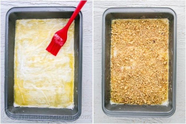 How to layer baklava recipe