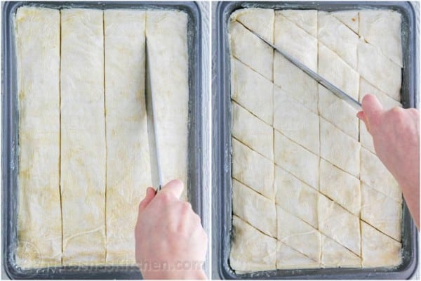 How to Cut Baklava Recipe