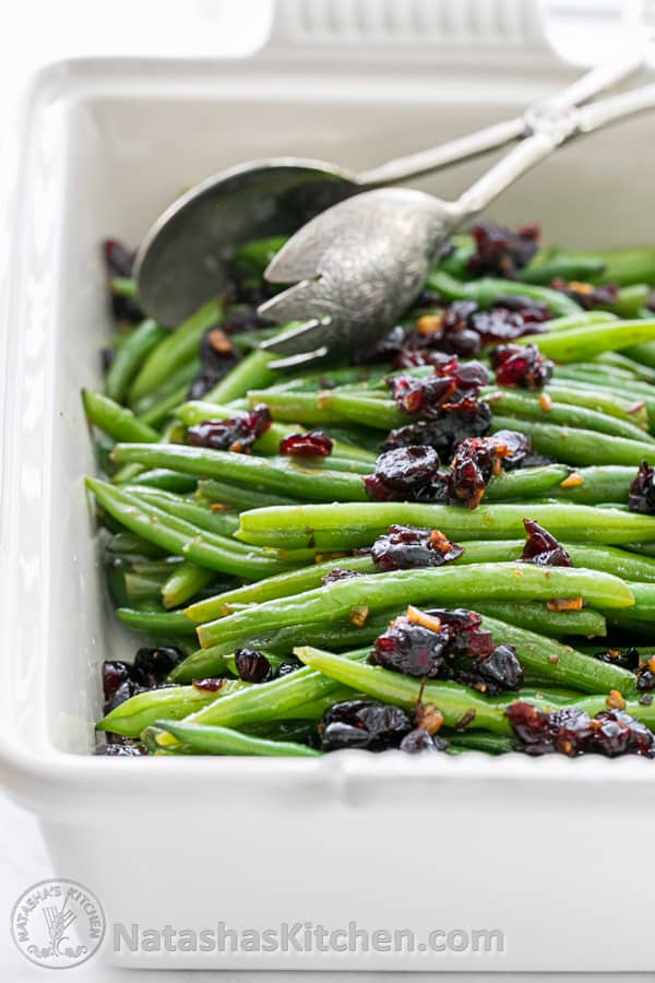 California Lemon Law >> Green Beans Recipe, Green Beans with Cranberries - Natasha's Kitchen