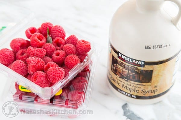 Raspberry Maple Syrup-2