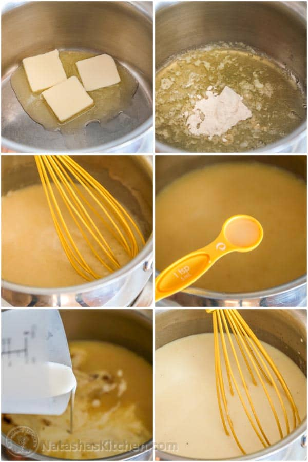 how to make cream sauce for chicken casserole