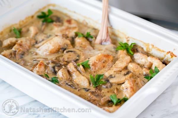 Chicken And Mushroom Casserole Chicken Gloria Recipe