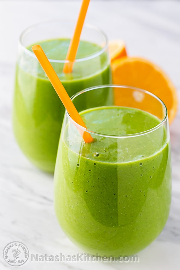 Our favorite Green Smoothie Recipe. It's a green power smoothie is ...