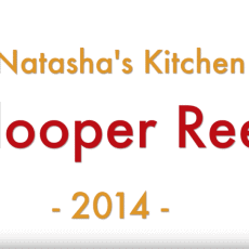 A close up that says Natasha's Kitchen Blooper Reel 2014
