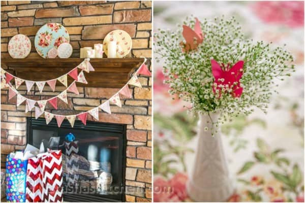 Delightful Darling Shabby Chic Girl Baby Shower, Party Menu U0026 Baby Registry Ideas From  @natashaskitchen