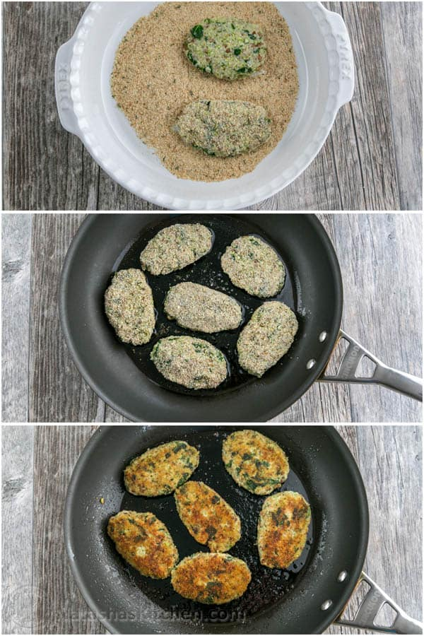 Chicken and Buckwheat Patties - loaded with healthy protein, grains & greens! So yummy! @natashaskitchen