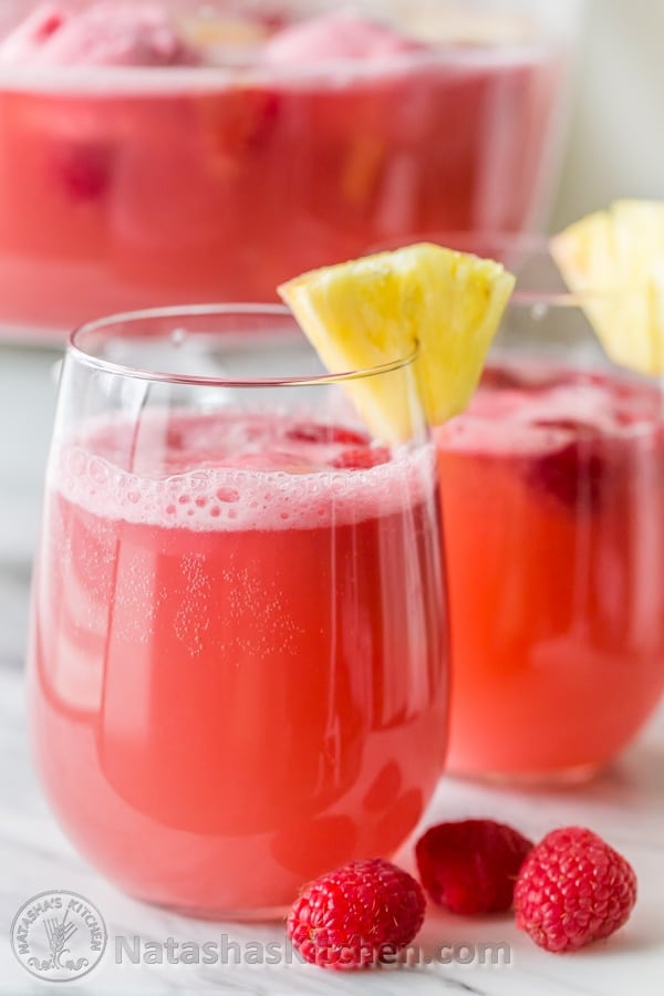 raspberry sherbet party punch sorbet punch party punch recipe