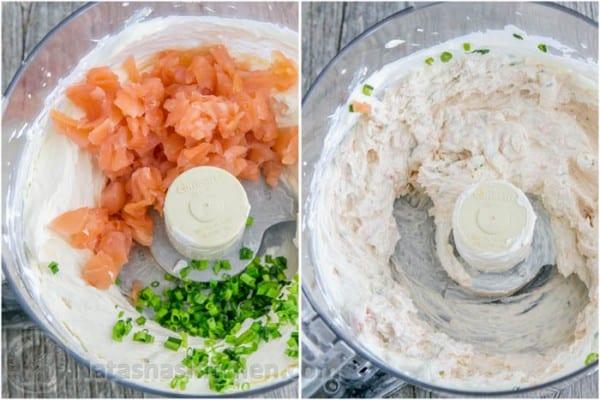 Easy and Amazing Smoked Salmon Spread Dip from @natashaskitchen
