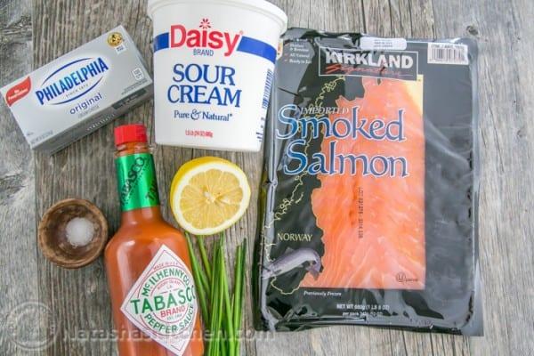 Easy and Amazing Dip: Smoked Salmon Spread from @natashaskitchen