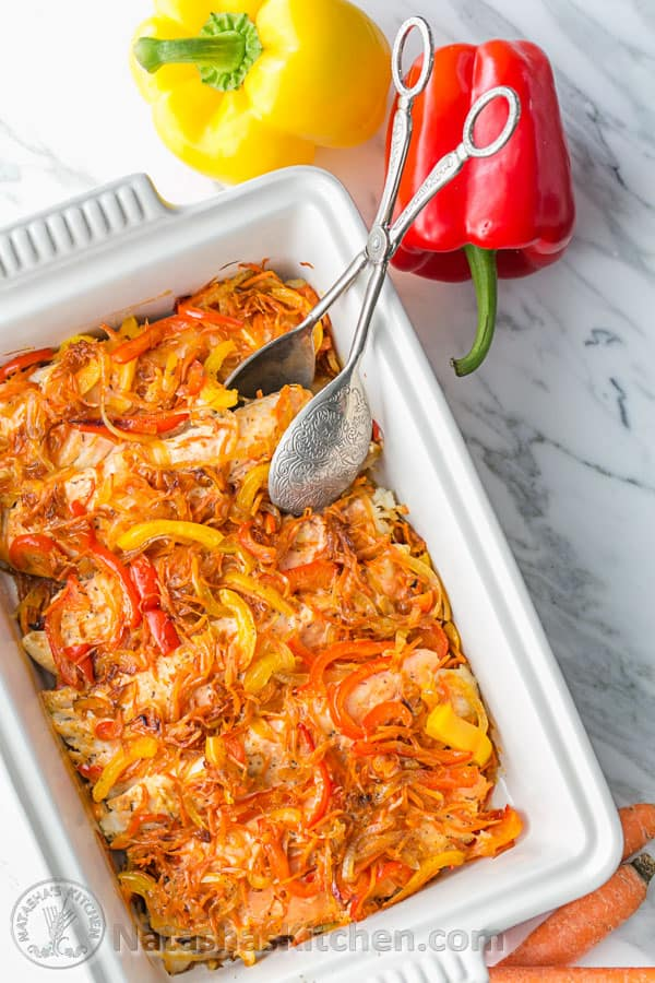 This Baked Tilapia Veggie Casserole Is So Juicy And Flaky Easy Excellent Dish