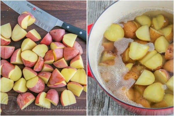 Baked Cheesy Ranch Potatoes - 1
