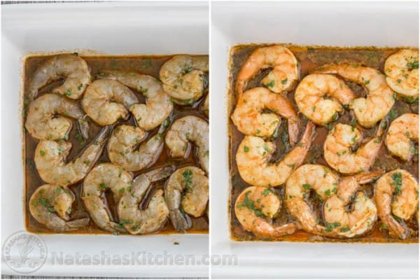 Baked Honey Cajun Shrimp-6