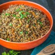Buckwheat and Pork (a healthy & easy one-pot meal!) @natashaskitchen
