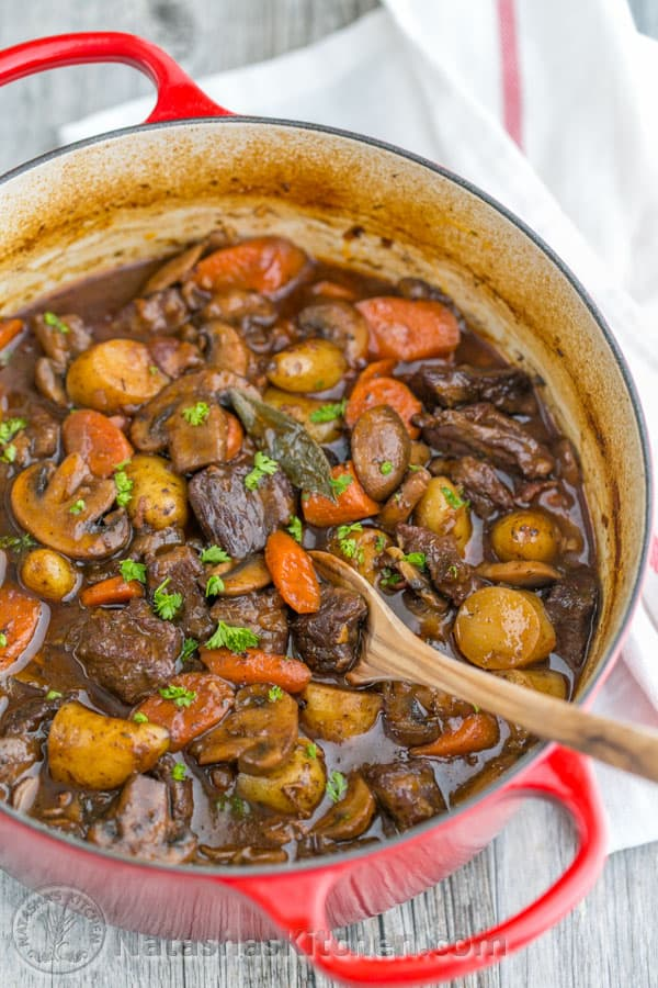 Classic Beef Stew Recipe Video Natashaskitchen Com