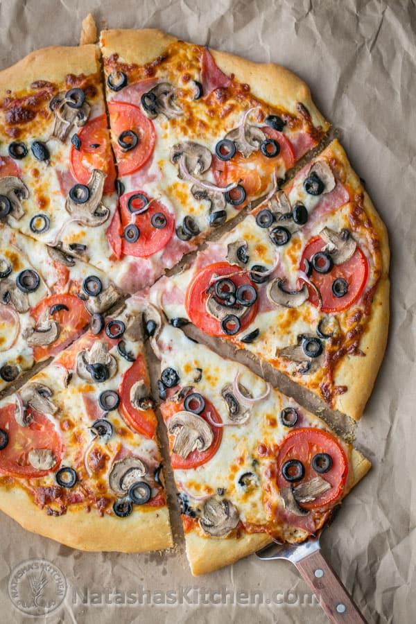 California Pizza Recipe Natasha S Kitchen