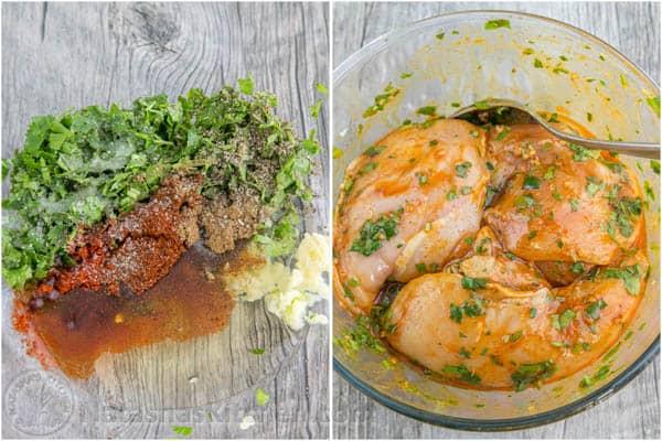 Chicken and Mushroom Fajitas-11
