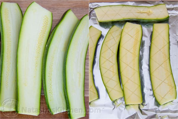 Baked Zucchini with Garlic-6