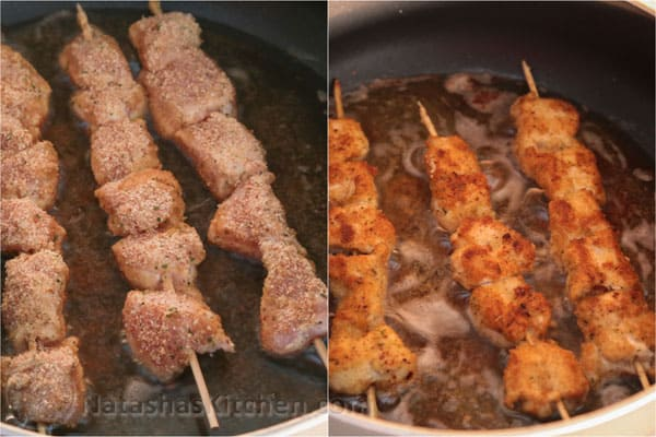 Breaded Chicken Skewers-8