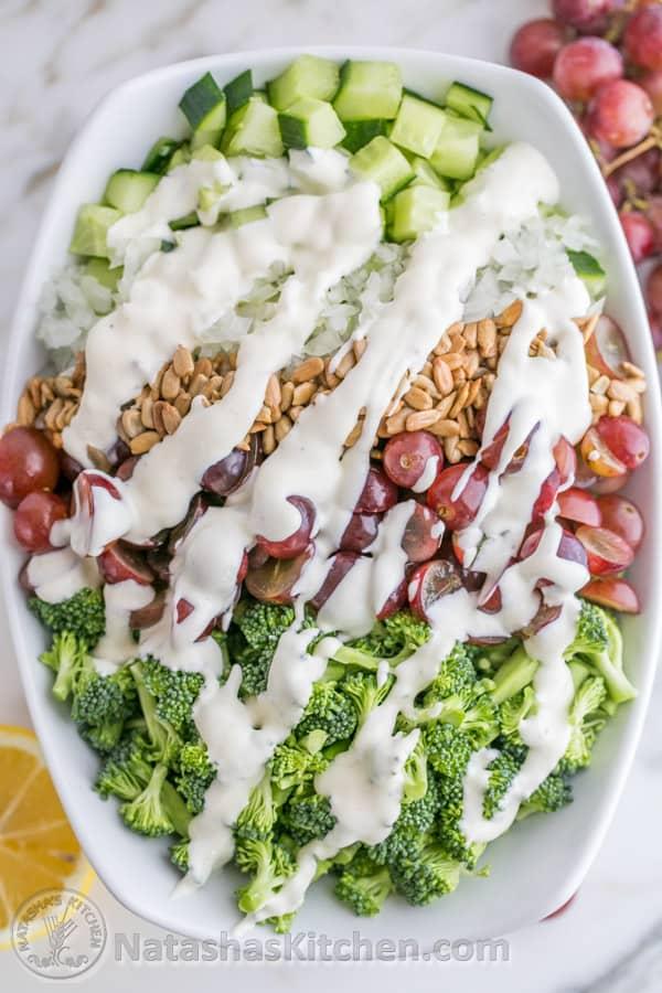 Broccoli Grape and Cucumber Salad-2