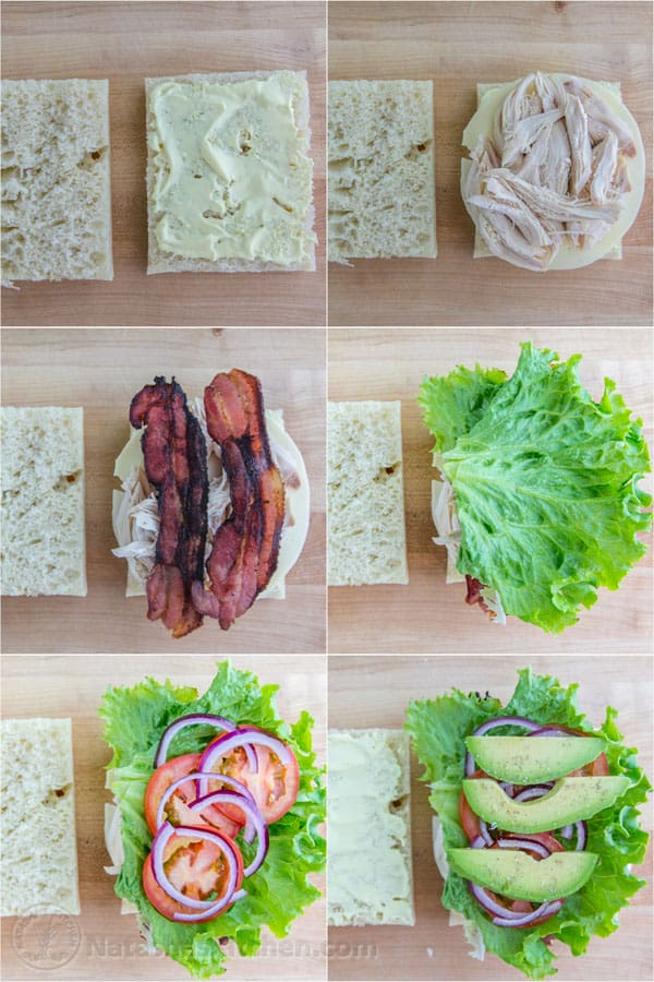 chicken bacon avocado sandwich recipe