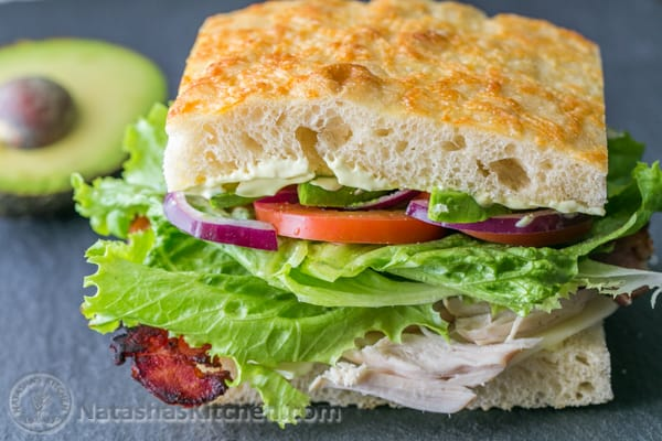 Turkey and Spicy Hummus Clubs photo