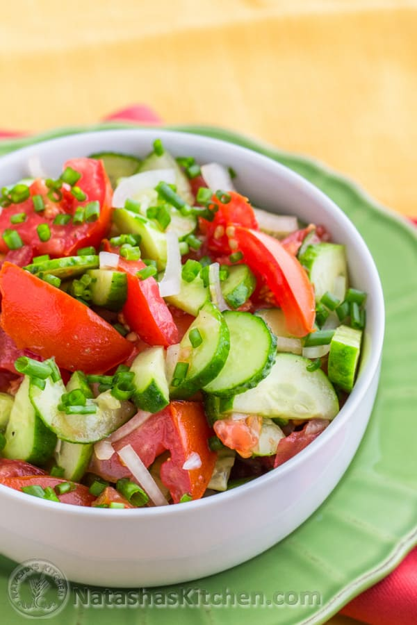 Cucumber and Tomato Salad-4