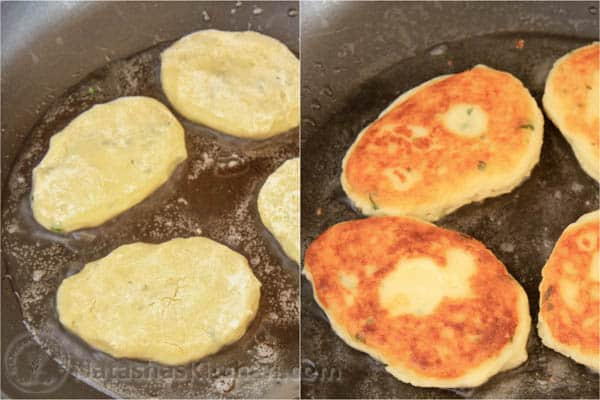 Easy Mashed Potato Pancakes-6