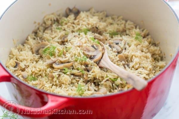 Mushroom Rice - BigOven